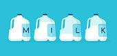istock Milk Jugs 1216266242