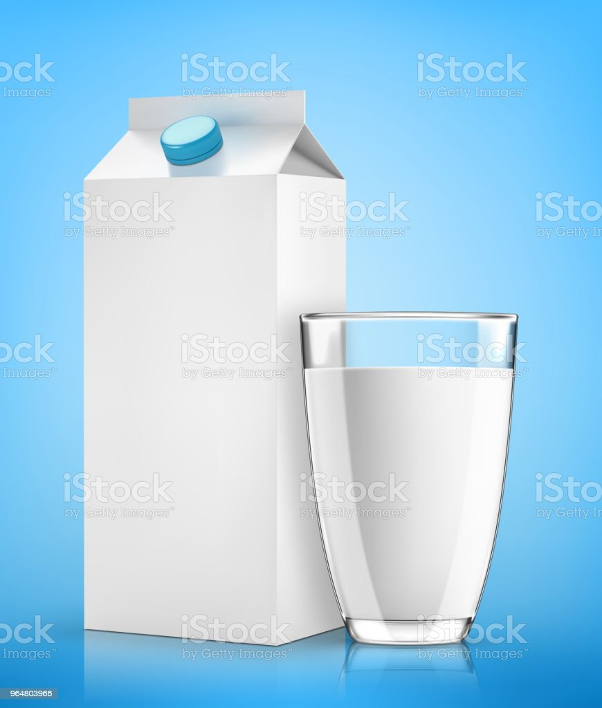 Milk pack and glass of milk royalty-free milk pack and glass of milk stock vector art & more images of agriculture