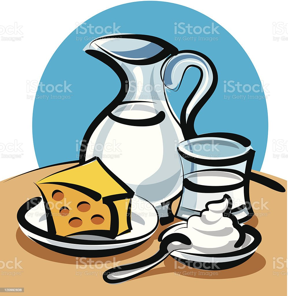 milk products royalty-free milk products stock vector art & more images of breakfast