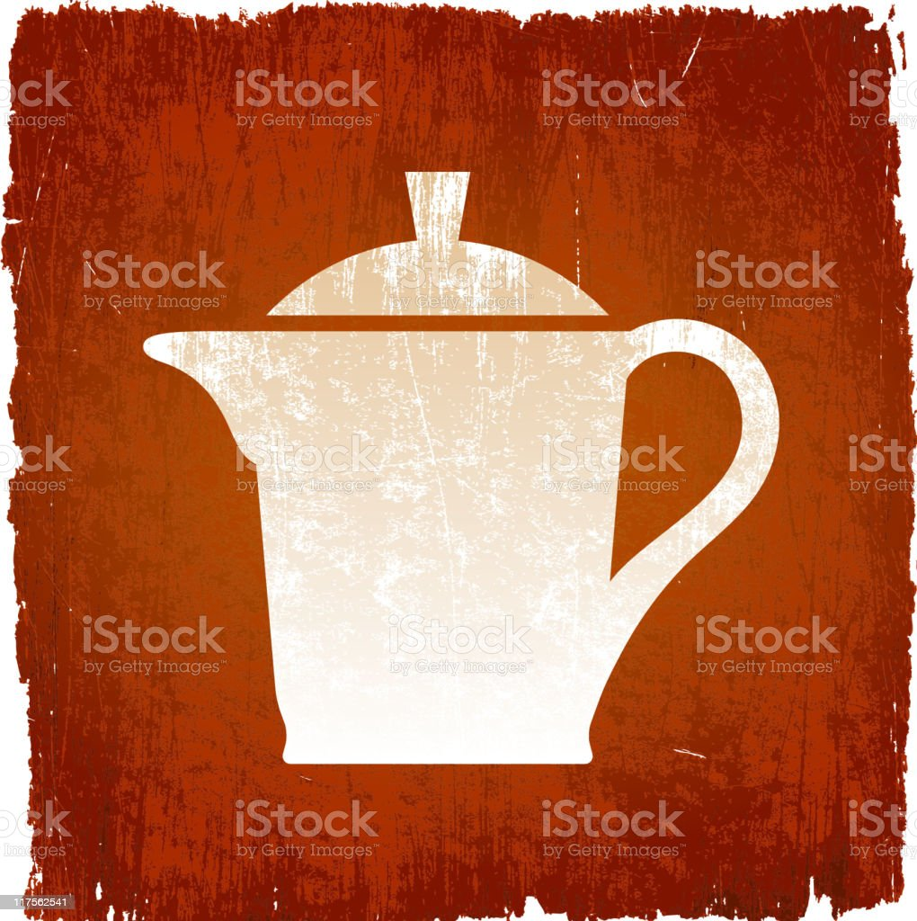milk saucer on royalty free vector Background royalty-free milk saucer on royalty free vector background stock vector art & more images of brown