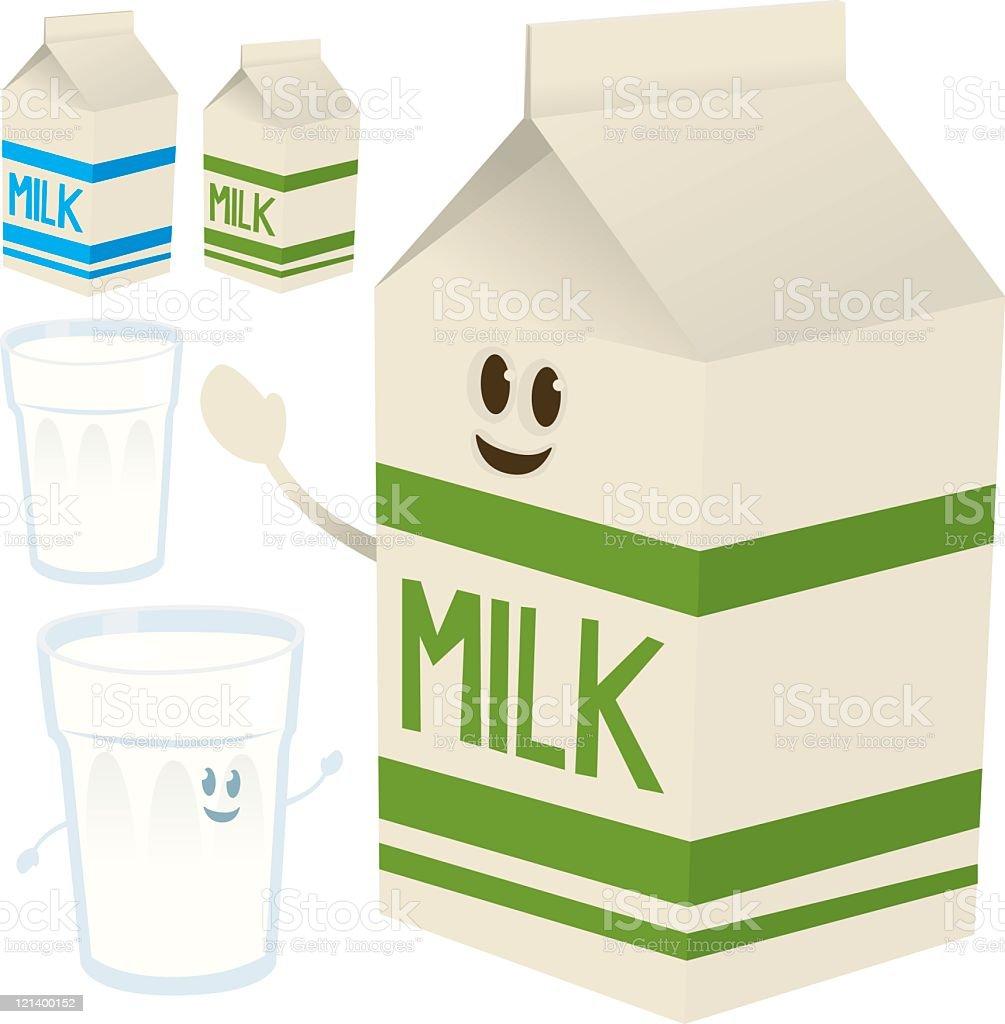 Milk royalty-free stock vector art