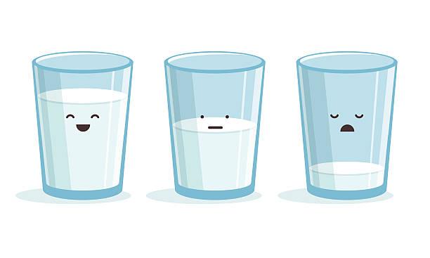 bildbanksillustrationer, clip art samt tecknat material och ikoner med milk - glas
