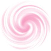 Milk, Yogurt, Cream Curl background. Pink swirl.