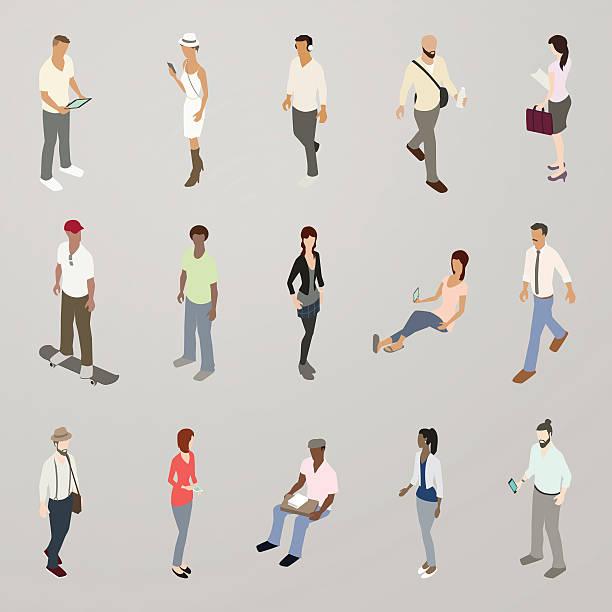 millennials illustration - mathisworks people icons stock illustrations, clip art, cartoons, & icons