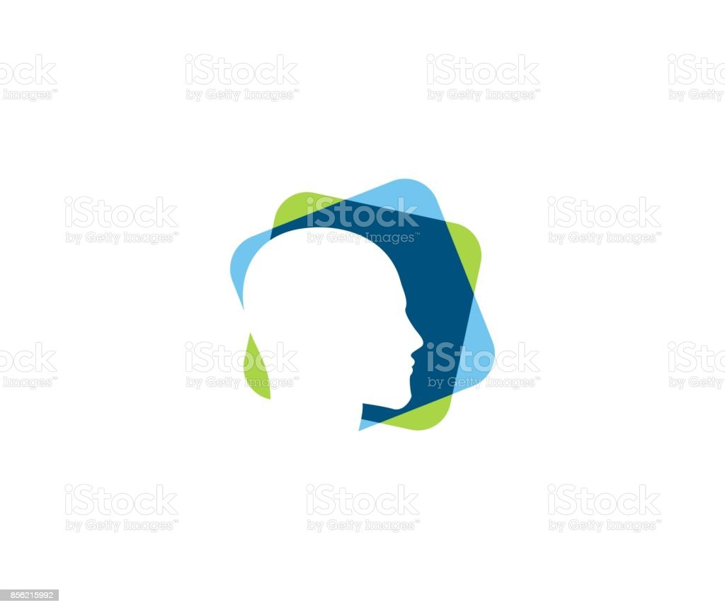 Mind icon vector art illustration
