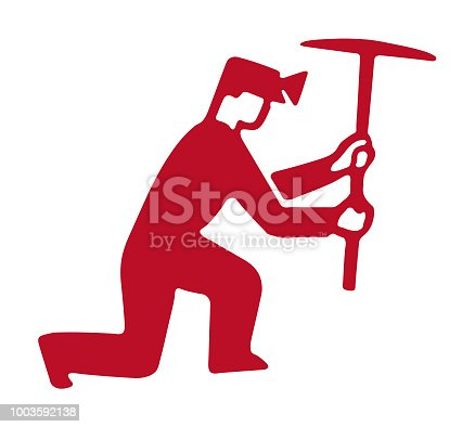 istock Miner Working 1003592138