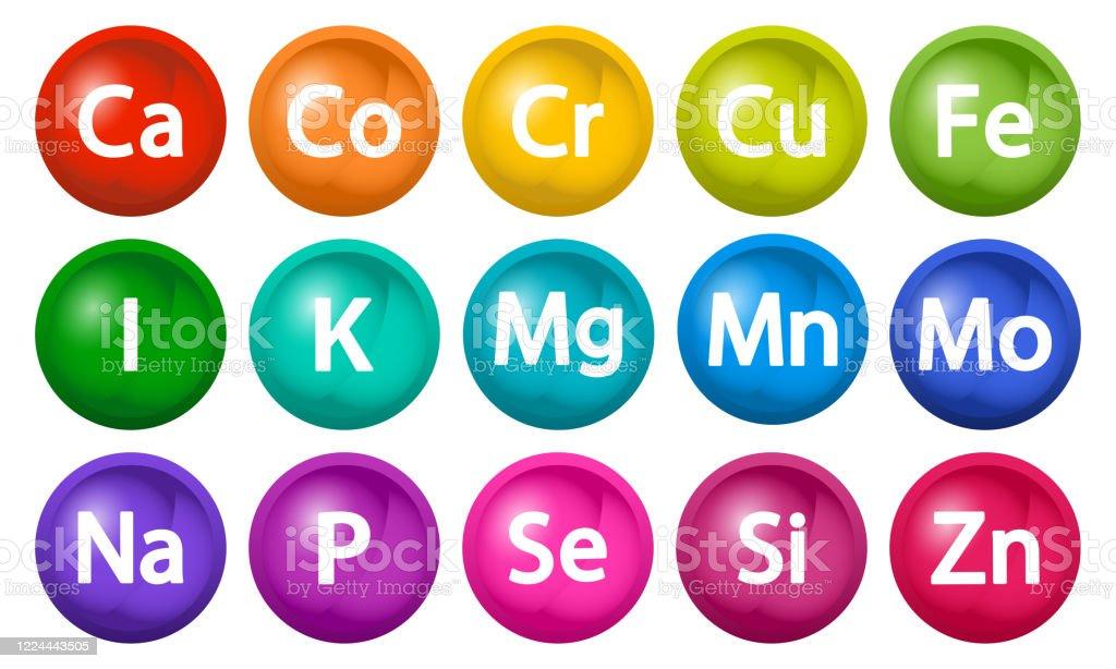 Chromium Calcium And Potassium
