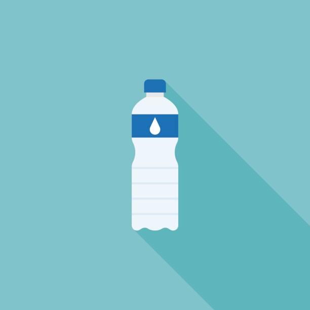 illustrations, cliparts, dessins animés et icônes de de l'eau minérale en bouteille - bouteille d'eau