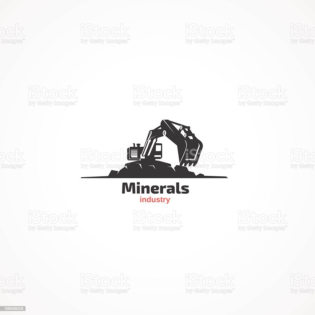 Minerals industry. royalty-free minerals industry stock vector art & more images of bulldozer