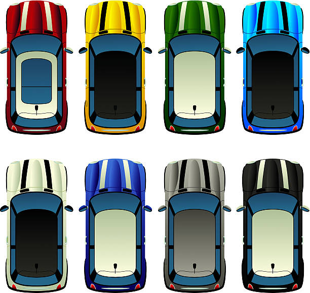 Best Mini Car Illustrations, Royalty-Free Vector Graphics