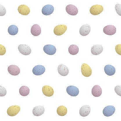 Mini Easter Eggs - Seamless Pattern