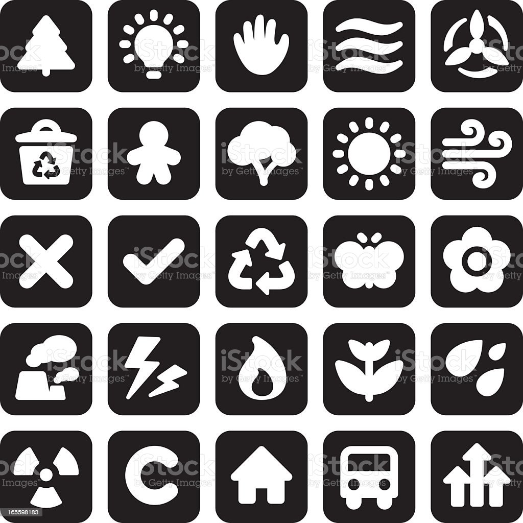 Mini Enviro Icons royalty-free mini enviro icons stock vector art & more images of alternative energy