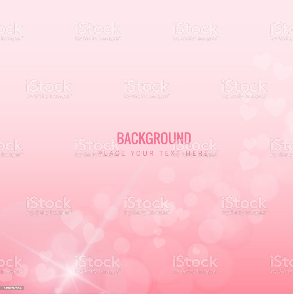Mini Shining Pink Hearts Pink Background Vector Image royalty-free mini shining pink hearts pink background vector image stock vector art & more images of abstract