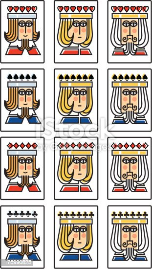 istock Mini suit of playing cards 175990825