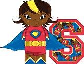 Mini Superhero Learning Letter S