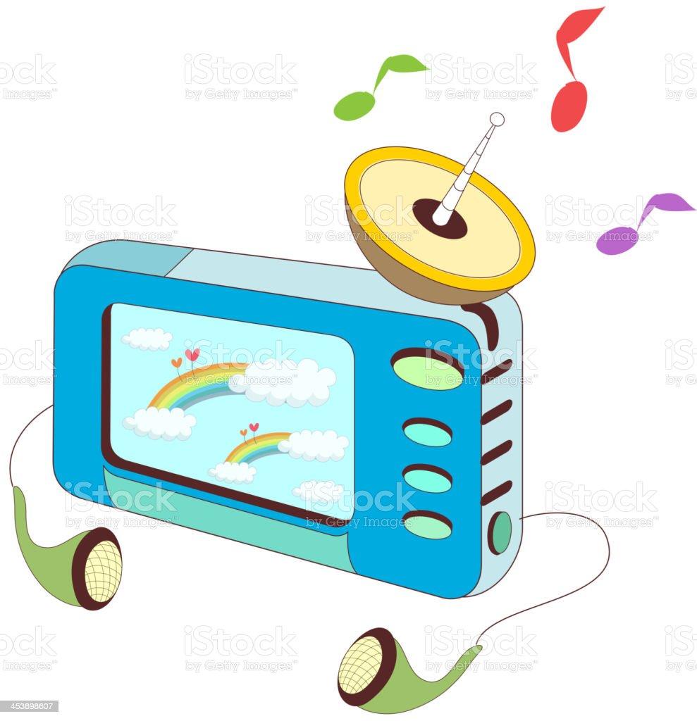 ミニテレビ のイラスト素材 453898607 | istock