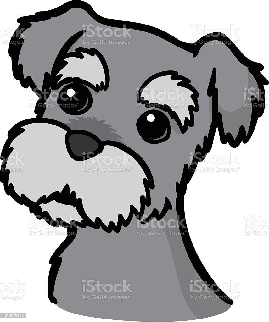 miniature schnauzer stock vector art more images of animal rh istockphoto com mini schnauzer clipart schnauzer clipart free