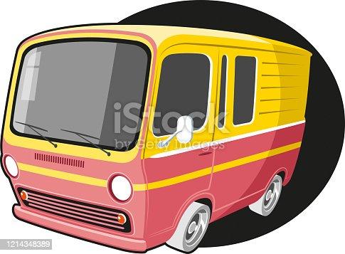 istock Camper minibus 1214348389