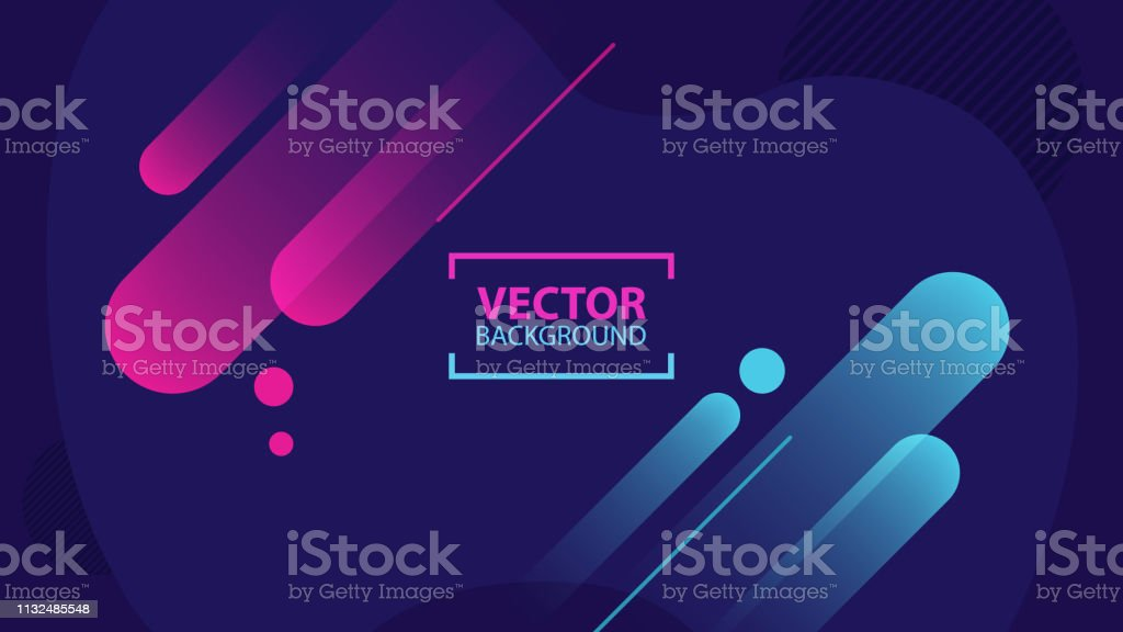Minimal abstract background. Dynamic shapes composition. Minimal abstract background. Dynamic shapes composition. Vector illustration. Abstract stock vector