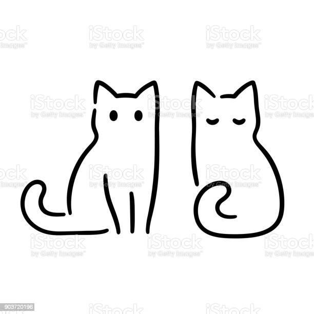 Minimal cat drawing vector id903720196?b=1&k=6&m=903720196&s=612x612&h=gnv224 vkbgiiaqbcjqssqgqi0ngdkuxzhogh0r06au=