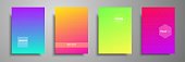 Minimal trendy cover template set. Abstract design template for brochures, flyers, banners, headers, book covers, notebooks, catalog and annual.