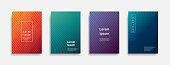 Minimal covers design. colorful line design art. Future geometric patterns. Eps10 vector.