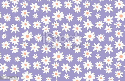 Seamless Daisy Pattern