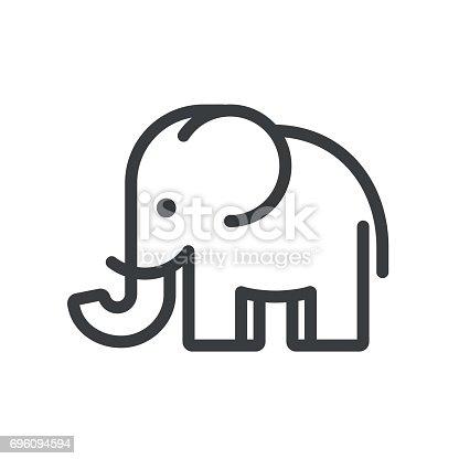 Minimal elephant immagini vettoriali stock e altre for Immagini minimal