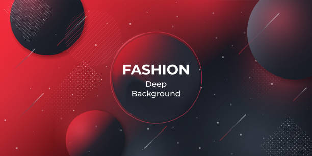 Minimal geometric background. Social media web banner for shopping, sale, product promotion. vector art illustration