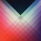 Minimal Graphic Diamond Pattern Design Template Frame Smooth Shadow Background