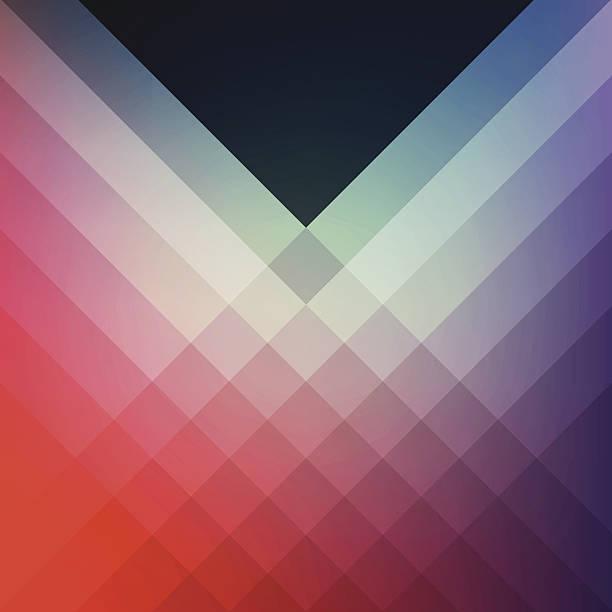 Minimal Graphic Diamond Pattern Design Template Frame Smooth Shadow Background vector art illustration