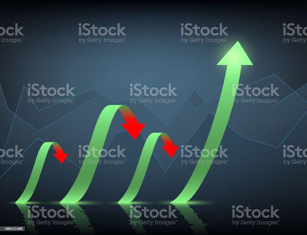 Minimal infographics vector art illustration