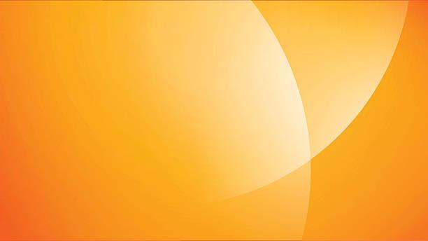 bildbanksillustrationer, clip art samt tecknat material och ikoner med minimal modern stock vector summer background colorful graphic art - orange bakgrund