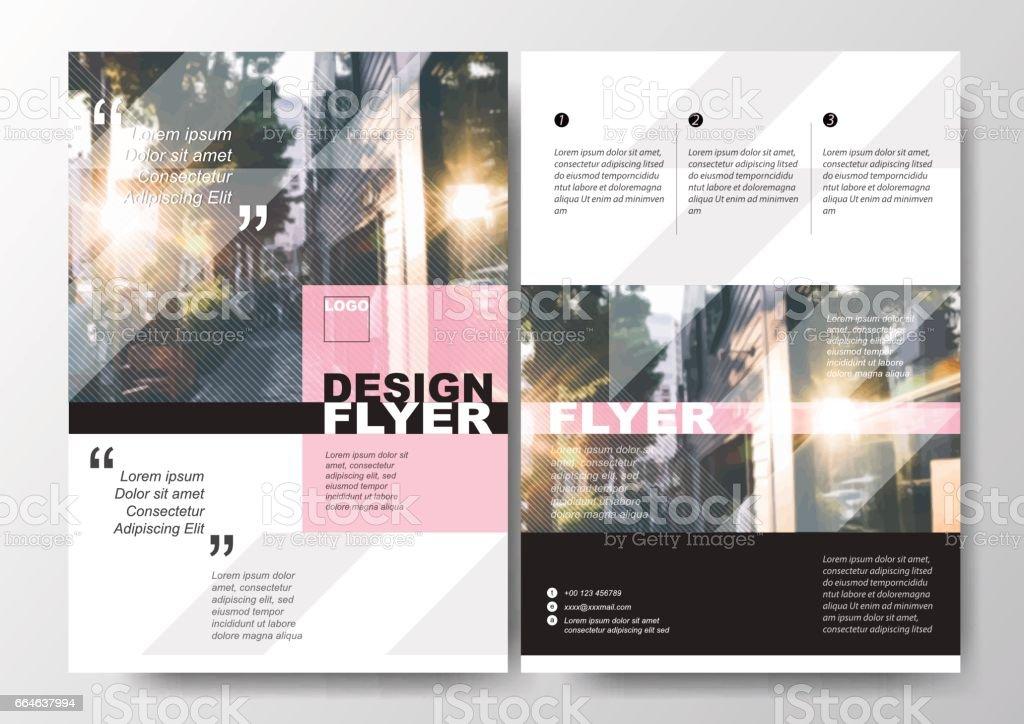 Minimal Afiş Broşür Ve Ilan Tasarım Düzeni Arka Plan Vektör şablonu