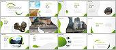 Minimal presentations design, portfolio vector templates with fluid colorful trendy gradients geometric shapes. Multipurpose template for presentation slide, flyer leaflet, brochure cover, report