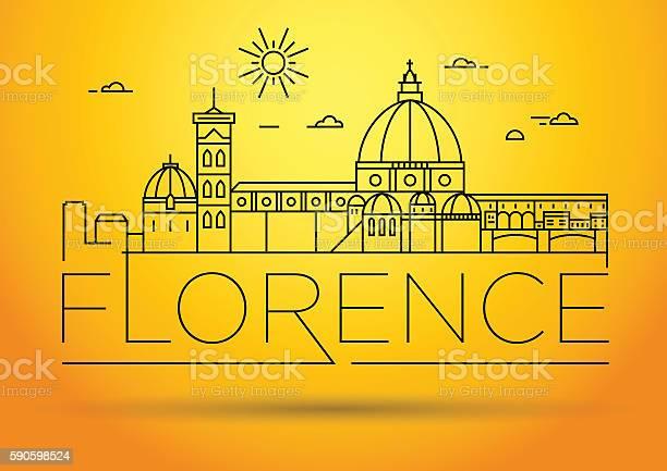 Minimal vector florence city linear skyline with typographic des vector id590598524?b=1&k=6&m=590598524&s=612x612&h=jd gxfid7 j7aa6y wcj78 mbn 5novxw3zuxjf4hb0=