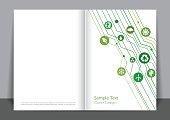 Green Digitally Cover design