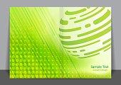 Green Globe Cover design