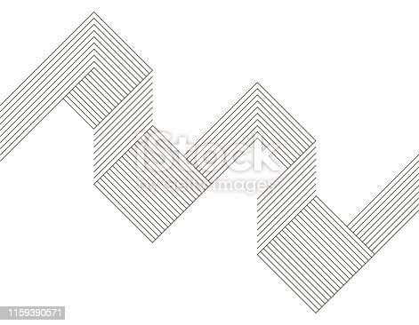 Minimalism geometric line pattern background
