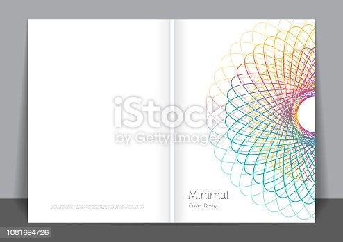 istock Minimalist cover design 1081694726