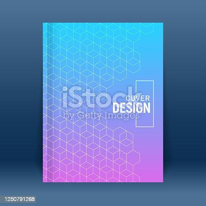 istock Minimalist cover design 1250791268