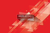 USA, Abstract, Brochure, Ideas, Book Cover, Red