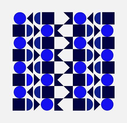 Minimalist geometry pattern