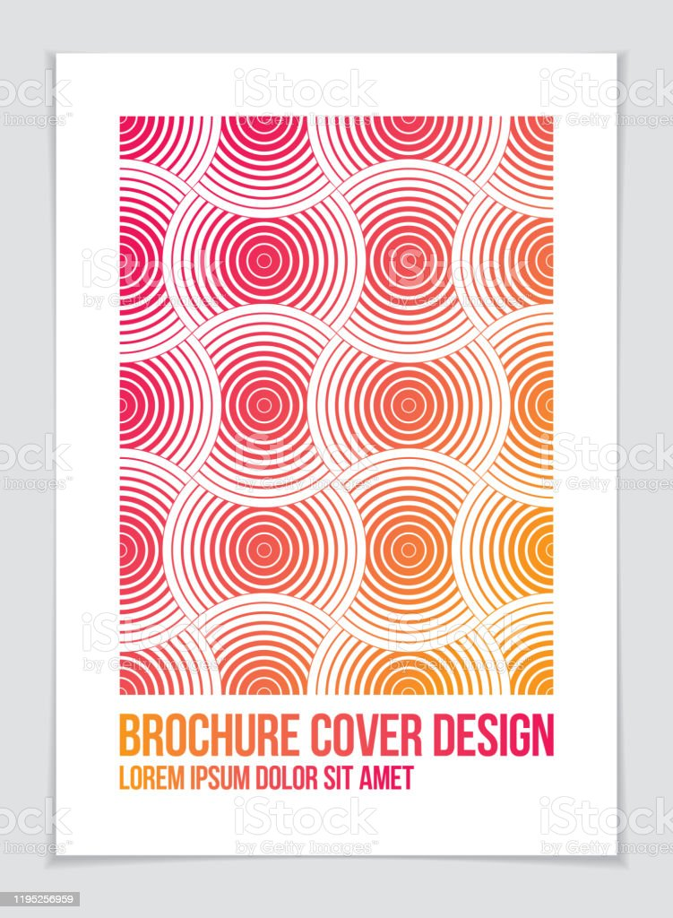 Minimalistic Brochure Design Vector Geometric Pattern Abstract Background Design Template For Flyer Booklet Greeting Card Invitation And Advertising A4 Print Format Stock Illustration Download Image Now Istock