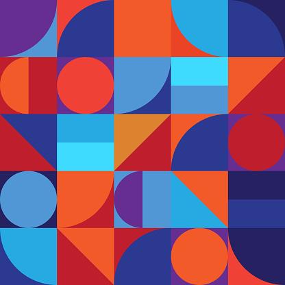 최소한의 기하학 추상 벡터 패턴 디자인 계획에 대한 스톡 벡터 아트 및 기타 이미지