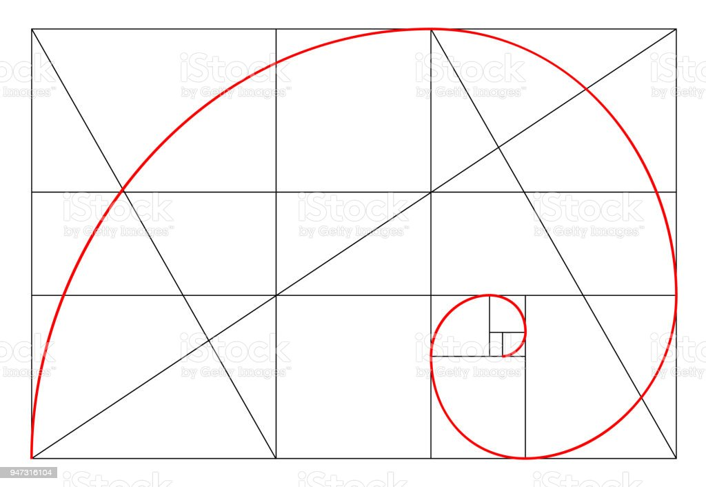 minimalistic style design golden ratio geometric shapes circles in rh istockphoto com golden ratio vector download golden ratio vector file