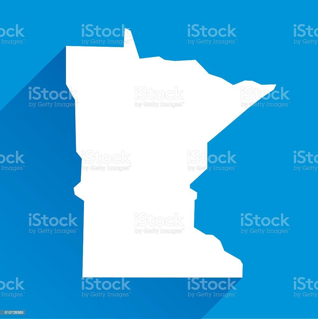 Minnesota Icon vector art illustration
