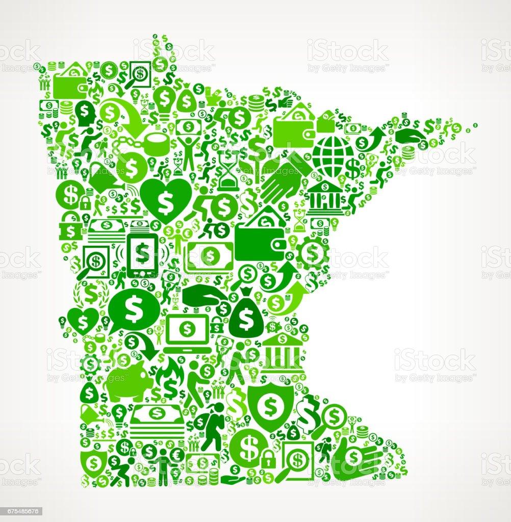 Minnesota para ve Finans yeşil vektör simge arka plan royalty-free minnesota para ve finans yeşil vektör simge arka plan stok vektör sanatı & abd'nin daha fazla görseli