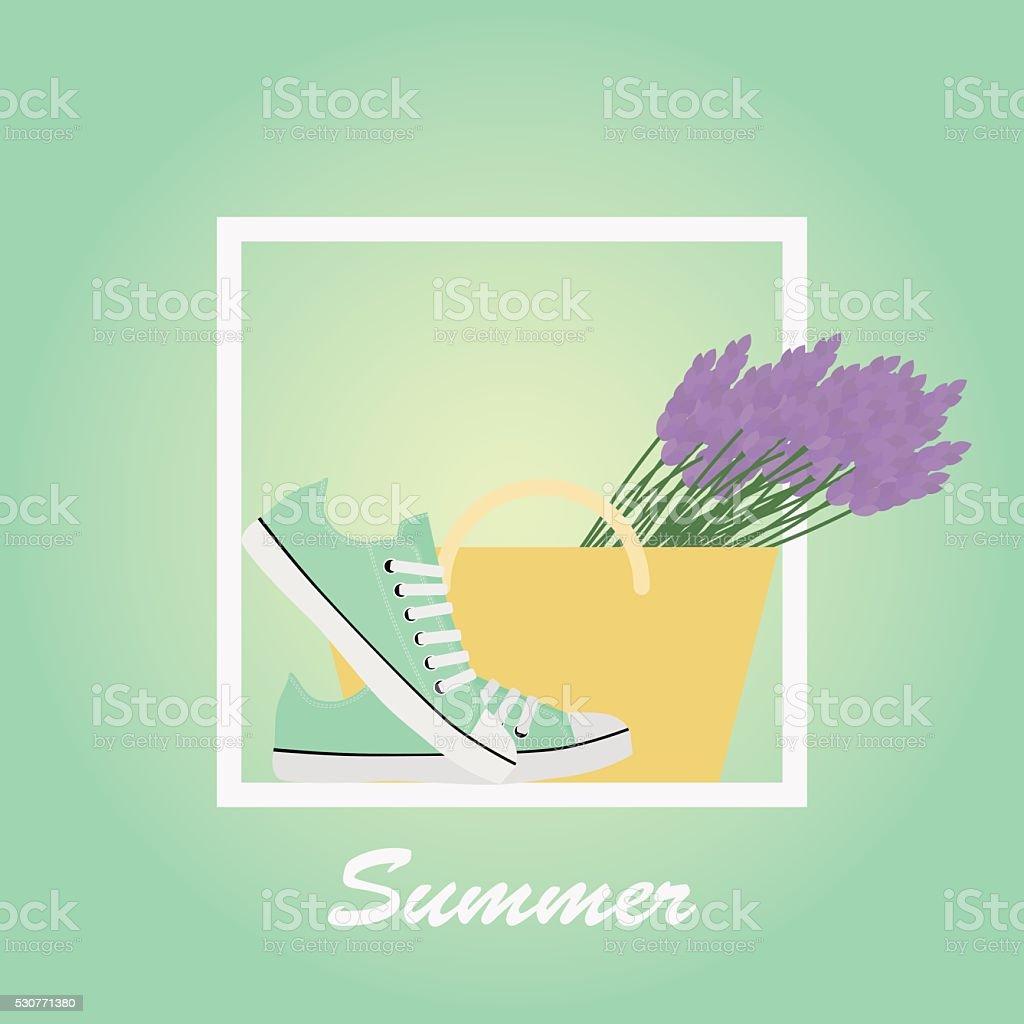 Minze Sneaker Schuhe Lavendel Obstkorb Detektive Sommer Schriftzug ...