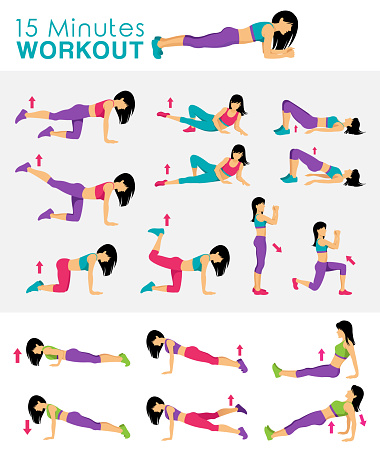 15 Minutes Fitness Workout